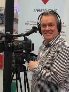 Glen Thompsett with camera