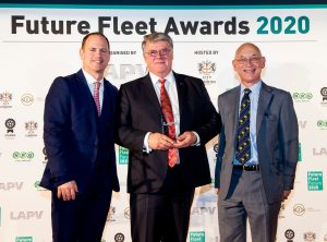 Eddie Cross LAPV Future Fleet Awards 2020