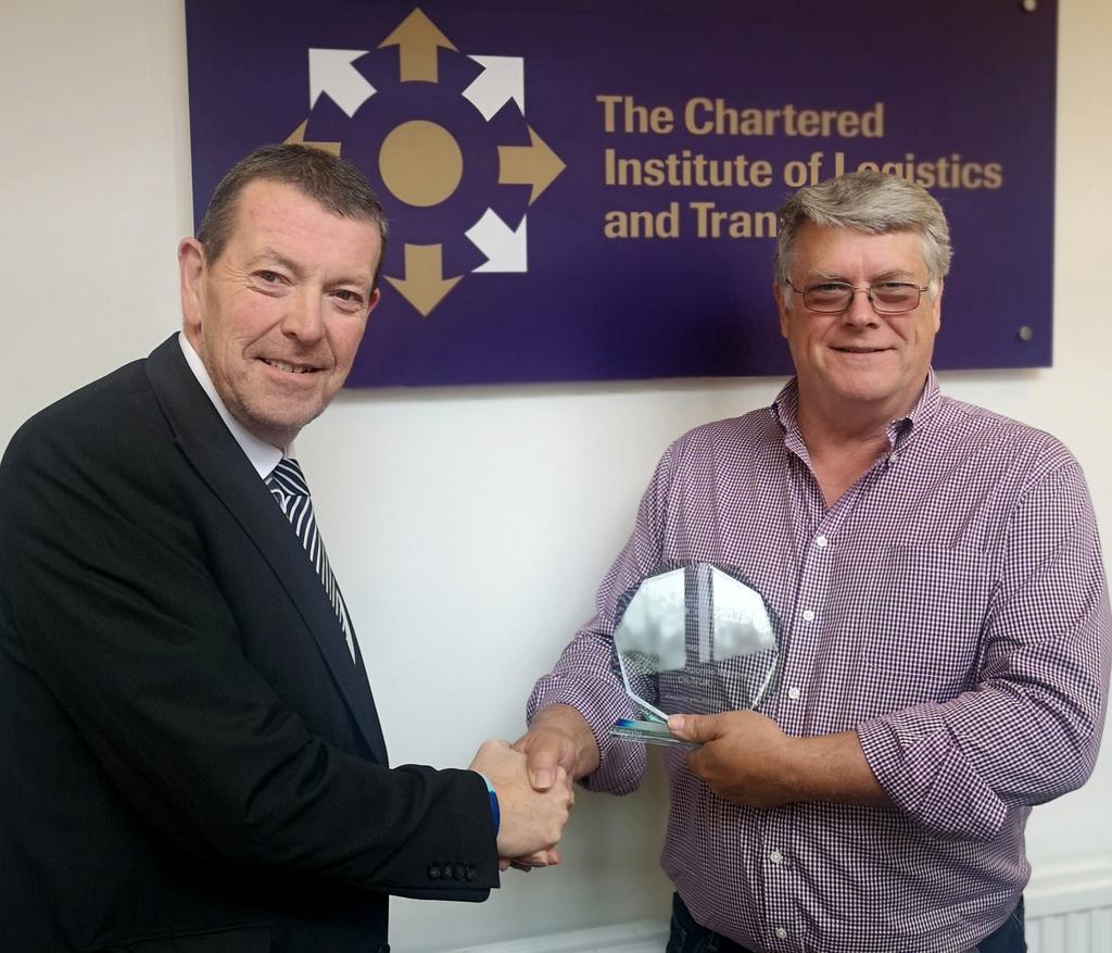 Eddie Cross and Chris Ruane CMILT - Corporate Sales Manager